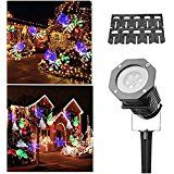 Christmas Light ProjectorDRILLPRO Holiday Light Projector Image Motion Projection Landscape Spotlight for Decoration... christmas deals week