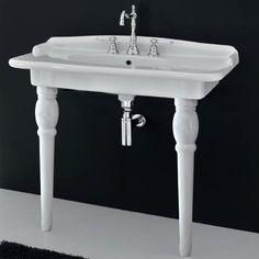 Hermitage console 92 basin