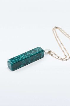 Green Stick Pendant Necklace - Urban Outfitters