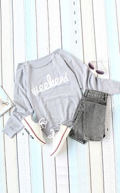 Inspired tumblr look with casual  pullover & denim.