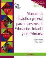 Manual de didáctica general para maestros de...
