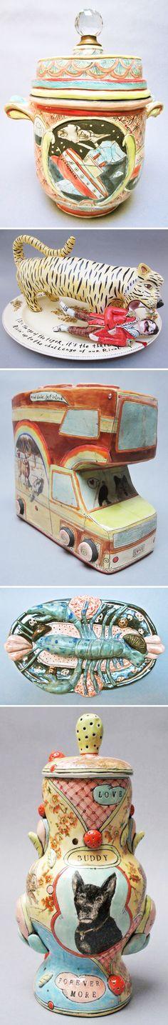 sculptural ceramics by mariko paterson (aka forage studios)
