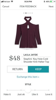 What a great neckline with the choker on this sweater! Have you tried Stitch Fix yet? I love that a personal shopper picks out 5 items for me to try on in the comfort of my own home! https://www.stitchfix.com/referral/6838616?som=c&sod=i