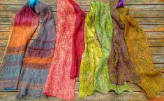 Fieltro Nuno Textiles, Plaid Scarf, Nuno, Fashion, Textile Design, Felting, Moda, Fashion Styles, Fabrics