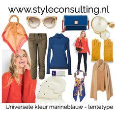Marineblauw voor de vier seizoenstypes.   Style Consulting Seasonal Color Analysis, Warm Spring, Season Colors, Spring Colors, Seasons, Outfits, Ideas, Fashion, Moda