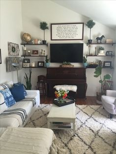 Image result for piano and tv in same room