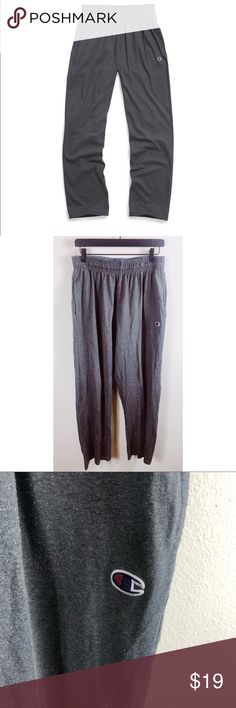b92d12e2287c Champion Authentic Gray Pants Size L New condition. Size Men s Large. But  ladies are