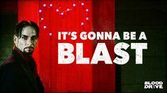 Julian Slink Blood Drive, Neon Signs, Tv, Tvs, Television Set, Television