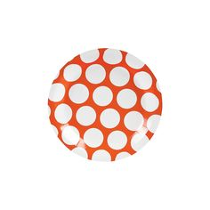 Large Polka Dot Dessert Plates - OrientalTrading.com