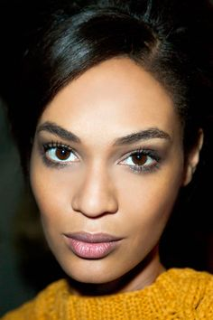 We just love the smoky eyes of Derek Lam's models. For a similar look, try glo minerals Smoky Eye Kit