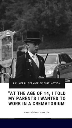 Award-Winning Funeral Director Timothy Parry offers a little insight into why he joined the funeral industry I Want To Work, Going To Work, Good Leadership Skills, Funeral Directors, Funeral Arrangements, I School, First Love, Insight, Relationship