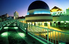 The Centro Dragão do Mar de Arte e cultura is a complete infrasctructure for cultural events and general entertainment activities. Fortaleza, Ceará, #Brazil