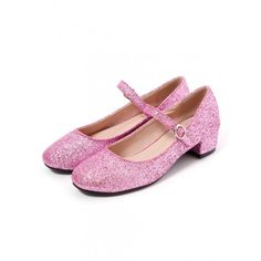 Glitterバレーシューズ ($56) ❤ liked on Polyvore featuring shoes and bubble shoes