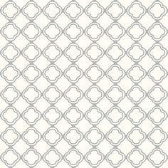 Trellis Grey Mist and Cream fabric by lulabelle on Spoonflower - custom fabric