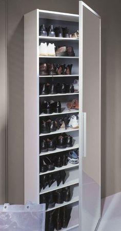 Aufbewahrung Shoe rack narrow - shoe cabinet - # narrow # shoe rack # shoe rack Ideas About The Code Narrow Shoe Rack, Narrow Shoes, German Decor, Shoe Tidy, Shoe Cupboard, Cupboard Ideas, Shoe Storage Cabinet, Cabinet Decor, Diy Shoe Rack