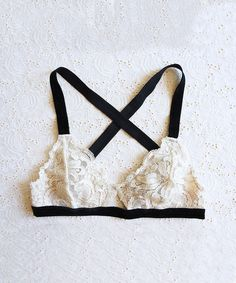 Sylvia Stretch Lace Bralette from ShopLately
