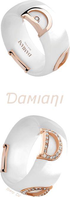 Brilliant Luxury by Emmy DE * Damiani 'Icon' Rings