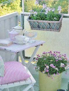 charming small balcony