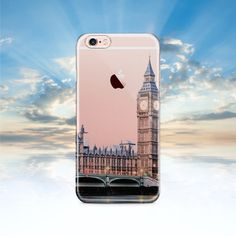Fun Summer London Phone cover! Made from recycled plastic, is highly durable and would be a great gift for anyone who loves London.  Comes in a range of cover sizes, see below, can't see your phone model please contact me.   iPhone 7 Case, London iPhone 7 Plus Case, iPhone 6 Case, Clear with Design iPhone 6S Cover, Clear Galaxy S8 Case, Rubber Samsung Galaxy S7 Case