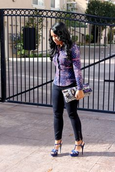 Major Must Haves - Blog: I love a printed top and clutch!