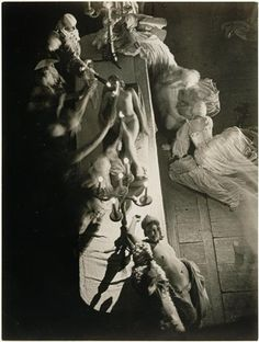 "an-overwhelming-question: "" Brassaï - Folies-Bergere, 1932 "" Folies Bergeres, Brassai, Old Paris, Famous Photographers, Opera, Statue, Black And White, History, Portrait"