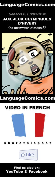 #French practice and pronunciation. Enjoy and share! http://www.youtube.com/watch?v=kX1Oq6b1LTs  ---------------------------------------------  Also find us on http://www.Facebook.com/LanguageComics - - -  http://www.YouTube.com/LanguageComicsTeam - - - http://www.Instagram.com/LanguageComics_