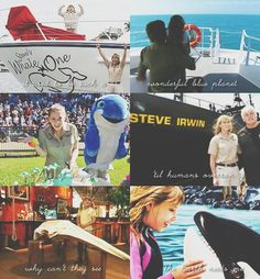 irwin-family:  I am the giant of the sea But I am your friend Don't let my time on Earth come to an end Save Me - Bindi Irwin