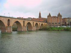 France Midi-Pyrénées Montauban pont sur le Tarn Images Of France, Bridges, Childhood