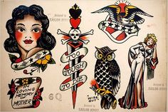 tattoo old school sailor jerry