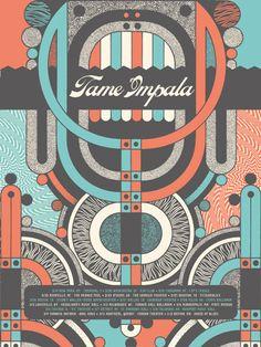tame impala. music. cover. album artwork. graphic design . illustration. poster