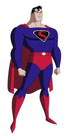 Superman - Max Fleischer DCAU Style by JTSEntertainment on DeviantArt