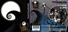 Nightmare Before Christmas recordable media package design by Ready Artwork