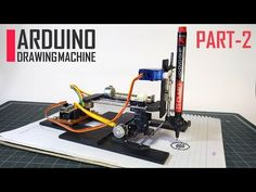 DIY Arduino CNC Drawing Machine: 17 Steps (with Pictures) - Projects to try - Arduino Cnc, Cnc Router, Arduino Programming, 3d Printing Machine, Cnc Machine, Hobby Electronics, Electronics Projects, Electrical Projects, Electrical Engineering