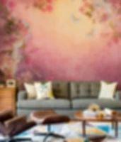 Wall Mural pastel flowers   • Inspirations • PIXERSIZE.com