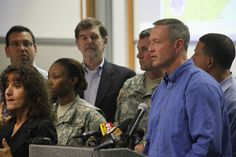 Governor O'Malley's briefing on Hurricane Sandy.