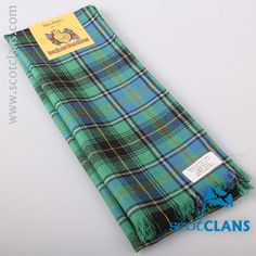 MacInnes Ancient Tartan Scarf. Free worldwide shipping available