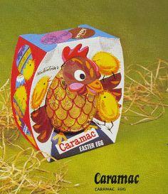Caramac Easter egg