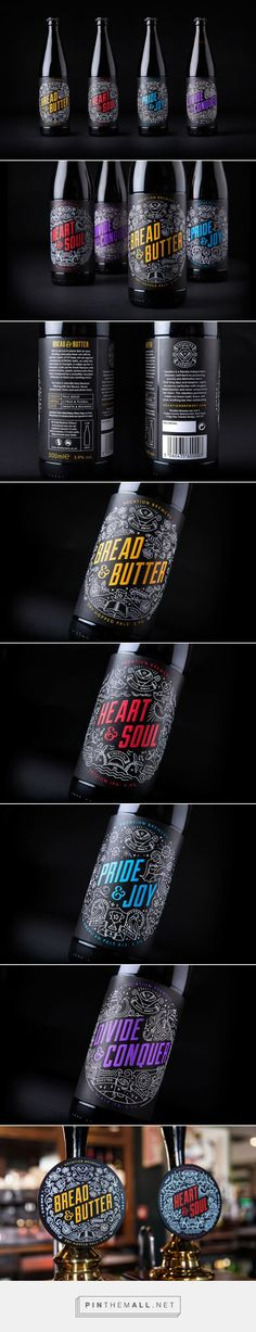 Vocation #Brewery #packaging designed by Robot Food - http://www.packagingoftheworld.com/2015/05/vocation-brewery.html