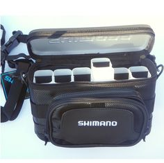 Shimano Lure Case Large stores 18 lures individually with room for some accessories.Carried sling or belt style Fishing Shop, Tackle Shop, New Product, Belt, Shopping, Clothing, Style, Projects, Belts