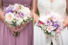 The brides and bridesmaids bouquets. A real wedding by Couple Photography. Brides And Bridesmaids, Bridesmaid Bouquet, Wedding Bouquets, Bridesmaid Dresses, Wedding Dresses, Colorful Bedding, Marquee Wedding, Couple Photography, Real Weddings