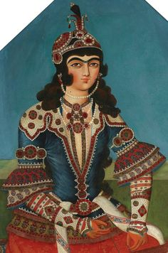 qajar women painting - Google Search