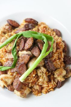 Reserve your table at House of Blues to try our Jambalaya Bayou Bowl! It features marinated chicken, white rice, andouille sausage, sweet peppers and roasted green onions in a spicy traditional jambalaya sauce.