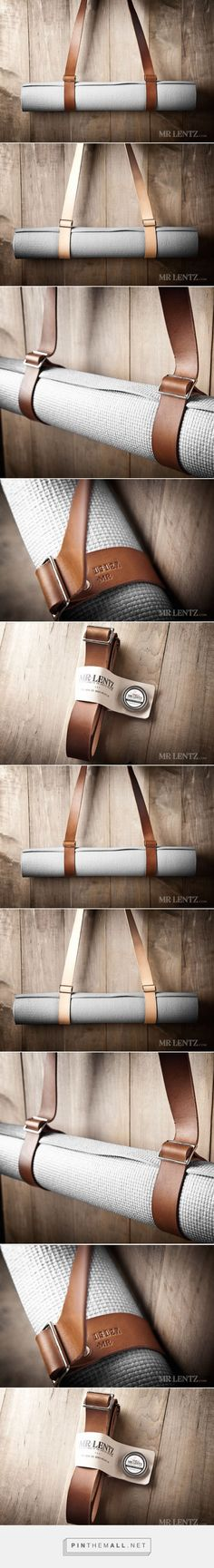Leather Yoga Mat Strap by Mr. Lentz » Review - created via http://pinthemall.net