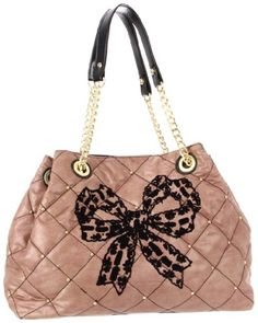 Betsey Johnson Tote,Taupe