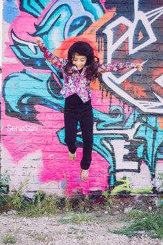 #grafitti wall photo session  Aryah's Free Mini Session Photos by Senia San Photography