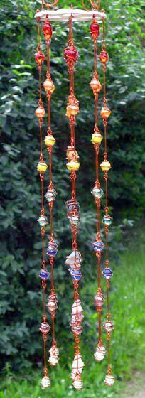 wire wrapped suncatchers
