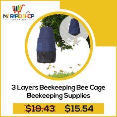 4pcs Bee Cage Beehive Honey Beekeeping Queen Cage Beekeeping Tools EL