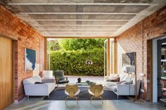 Living Rooms With Exposed Brick Walls http://ift.tt/2cZo0Tb
