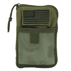 Voodoo Tactical Molle Compatible BDU Wallet   The Voodoo Tactical Molle Compatible BDU Wallet is a rugged pouch designed to fit inside your BDU cargo pocket for secure carry of your personal information and identification. Holds I.D, pens, pencils, a small flashlight, electronics, medications, passport, tools, etc. Universal straps make for easy attachment to a MOLLE compatible belt, vest or pack. Features 9 separate pockets/slots, external mesh pocket and two inside lanyards with clips…