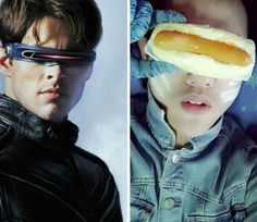 #NailedIt! Low Cost Cosplay: No money for a Superhero visor? How about a hotdog? I love this more than I should.